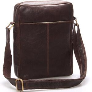 Elegantná pánska kožená taška cez rameno hnedá - SendiDesign Turner hnedá -  Glami.sk 5afbd52fe85