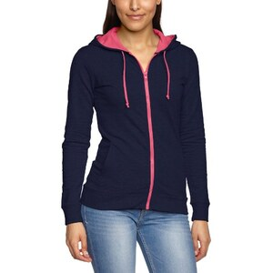 Blend Damen Kapuzenpullover Melissa sweatshirt Light grey