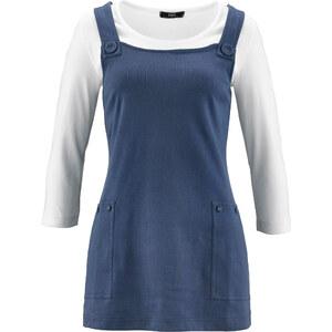 bpc bonprix collection 2 in 1 Shirt 3/4 Arm in blau für Damen von bonprix