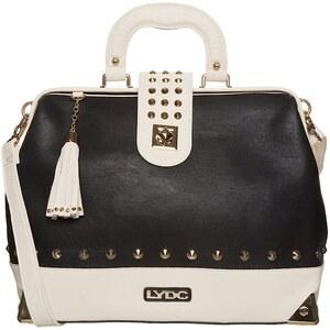 LYDC London Handtasche black/cream