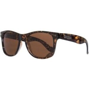 BRIGADA Lawless Sunglasses clear tan cloud/brown lens