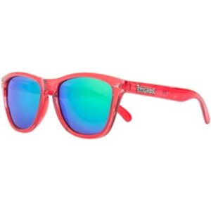 BRIGADA Dyer Sunglasses electric clear red/green mirror lens