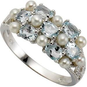 "firetti Ring ""Perle"" mit Topasen"