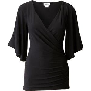 BODYFLIRT boutique Shirt halber Arm in schwarz für Damen von bonprix