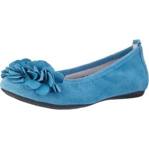Andrea Conti 0097407, Ballerines Bout Fermé Femme, Bleu (Jeans 274), 38 EU