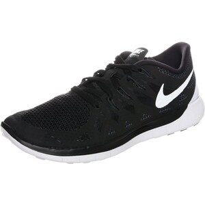 Nike Performance FREE 5.0 Laufschuhe Natural Running black/white/anthracite