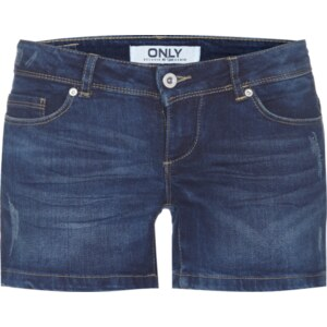 ONLY Jeans-Shorts im Used Look