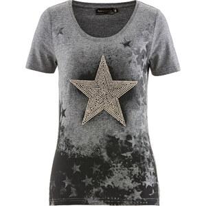 bpc selection T-Shirt, Kurzarm in grau für Damen von bonprix