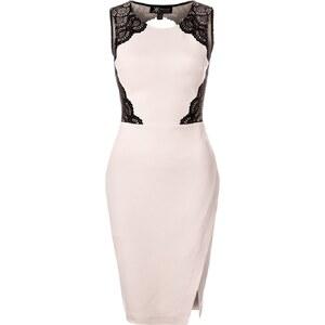 Kardashian Kollection at Lipsy Cocktailkleid / festliches Kleid neutral