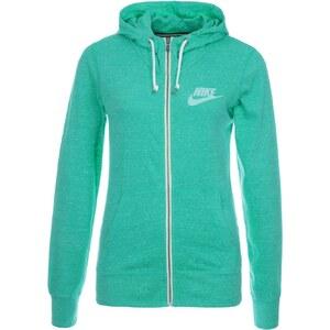 Nike Sportswear GYM VINTAGE Sweatjacke turbo green/sail