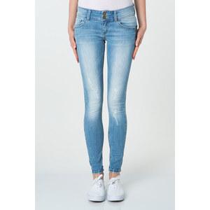 Tally Weijl Helle Jeans mit Waschung und Reissverschluss-Detail