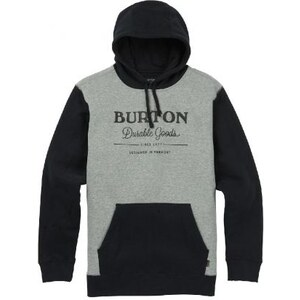 Pánská mikina Burton Durable goods true black   gray heather - Glami.cz 3a162992da