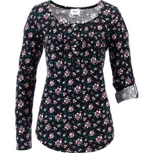bpc bonprix collection Shirt Langarm in schwarz für Damen von bonprix