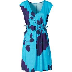 BODYFLIRT Shirtkleid/Sommerkleid ohne Ärmel in blau (Rundhals) von bonprix