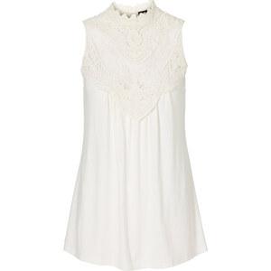 BODYFLIRT Shirtbluse ohne Ärmel in weiß für Damen von bonprix