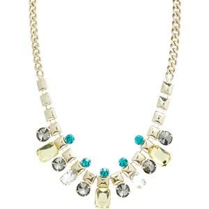 Love Rocks – Halskette mit rechteckigen Gliedern