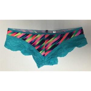 Victoria s Secret Krajkové Kalhotky Brazilky Wavy Lace Trim Cheekster  Victoria´s Secret - Glami.cz 1eed41ba3f