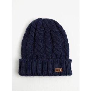 Tmavě modrá dámská pletená čepice Roxy Tram - Glami.cz 987c558dac