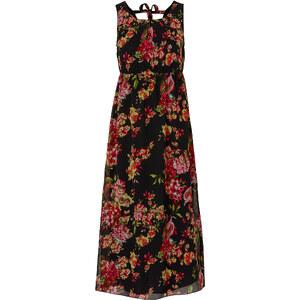 BODYFLIRT Kleid ohne Ärmel figurumspielend in schwarz (Rundhals) von bonprix