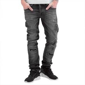 2Y PREMIUM 2Y kalhoty pánské Ixelles Slim Fit Jeans Grey - Glami.cz e926875229