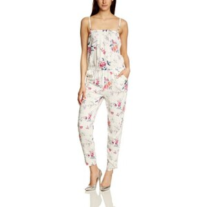 ONLY Damen Straight Leg Jumpsuit MOLOKO FLOWER STRAP WVN