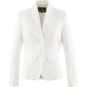 bpc selection Blazer langarm figurbetont in weiß für Damen von bonprix