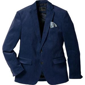 bpc selection Feincord-Sakko langarm in blau für Herren von bonprix
