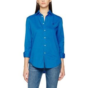 polo ralph lauren damen hemd ls rx est st long sleeve shirt garment dye twill blau brookfield. Black Bedroom Furniture Sets. Home Design Ideas