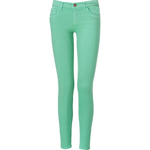 Current/Elliott Winter Green Ankle Skinny Jeans