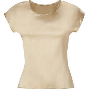 Etro Almond Silk-Blend Top