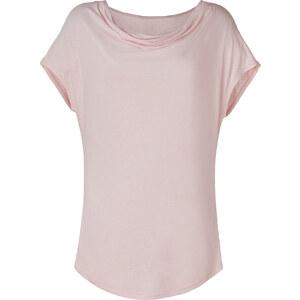 DKNY Ballet Rose Draped Neck T-Shirt