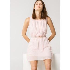 MANGO Fließendes Kleid Mit Falten