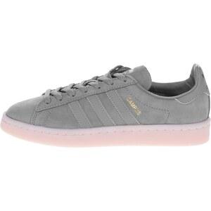 Tmavosivé dámske kožené tenisky adidas Originals Campus - Glami.sk 1f5e21f5a4