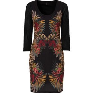 BODYFLIRT boutique Kleid 3/4 Arm in schwarz von bonprix