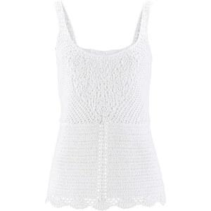 bpc bonprix collection Häkeltop in weiß für Damen von bonprix