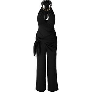 BODYFLIRT boutique Overall ohne Ärmel figurbetont in schwarz (Rundhals) für Damen von bonprix