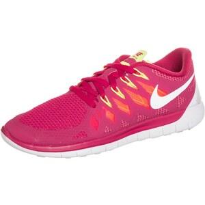 Nike Performance FREE 5.0 Laufschuhe Natural Running red/white/atomic mango