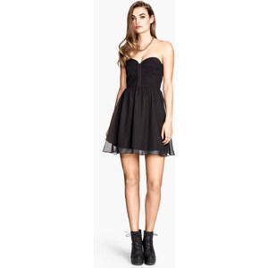 H&M Bandeau-Kleid
