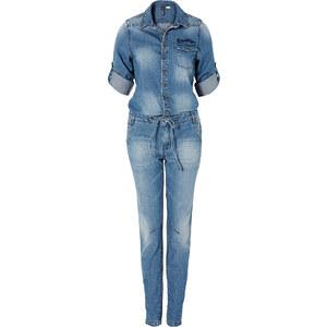 RAINBOW Jeans-Overall in blau für Damen von bonprix