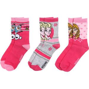 Jégvarázs szürke-rózsaszín zokni szett - Glami.hu 32141060d2