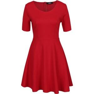 10b883e2e8e0 Červené šaty s áčkovou sukňou ZOOT - Glami.sk