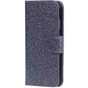 Luxusní třpytivé flipové peněženkové pouzdro pro Huawei Honor 8 - šedé -  Glami.cz 5b2655b71fa