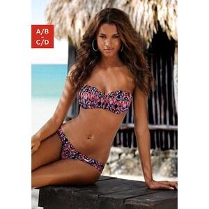 Bandeau-Bikini, LASCANA, hummer bedruckt