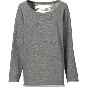 RAINBOW Sweatshirt in grau (Rundhals) für Damen von bonprix
