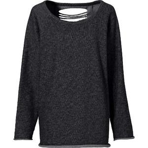 RAINBOW Sweatshirt in schwarz (Rundhals) für Damen von bonprix