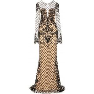 Zuhair Murad Sequin And Bead-embellished Floor-length Gown