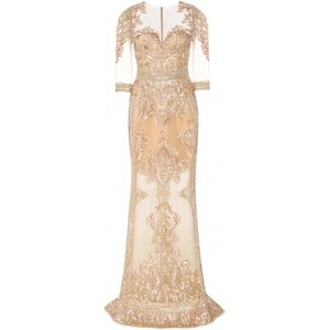 Zuhair Murad Embellished Tulle Gown