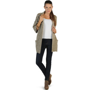 Rut & Circle Silvia Lurex Cardigan
