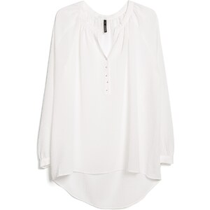MANGO Strukturierte Bluse