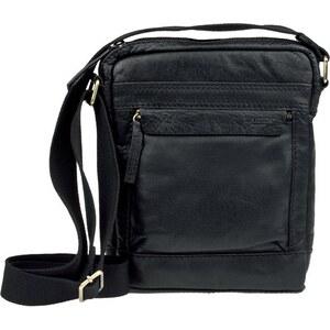 Lagen LN 20672 černá kožená taška přes rameno - Glami.cz be93bc3d450